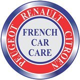 french car care branding logo