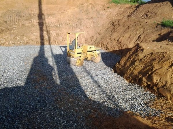 scavo profondo
