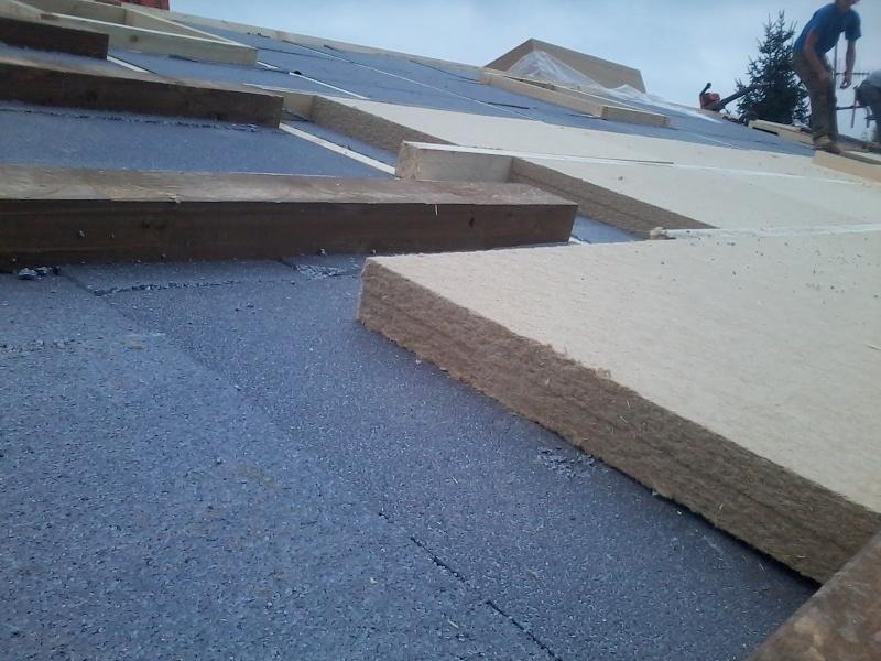 dettaglio isolamento tetti
