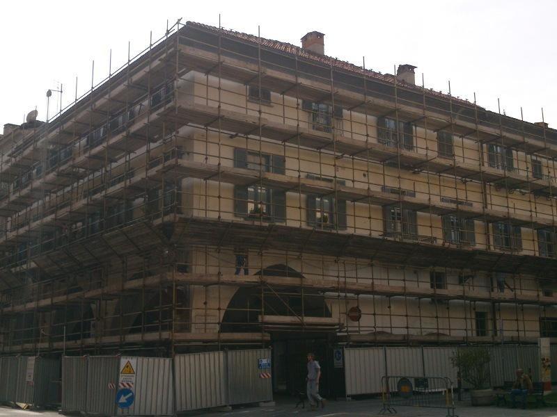 ristrutturazione palazzina