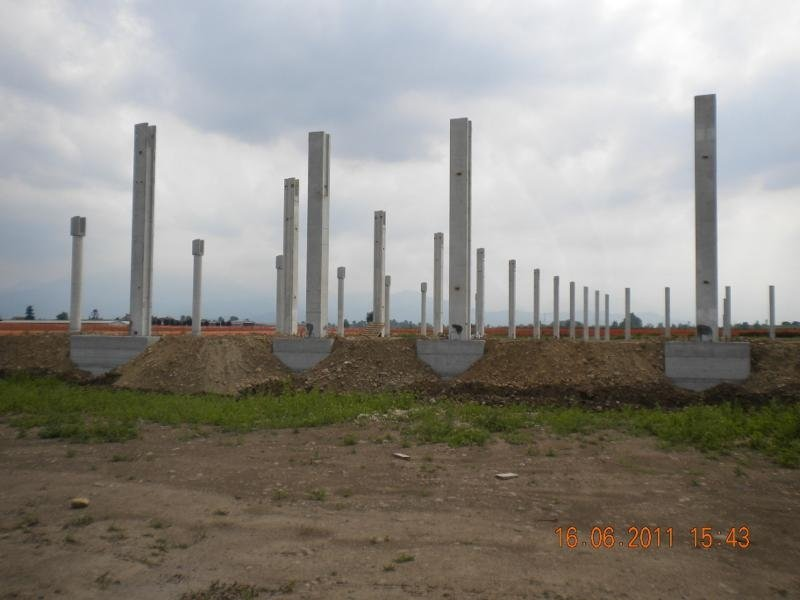 disposizione pilastri