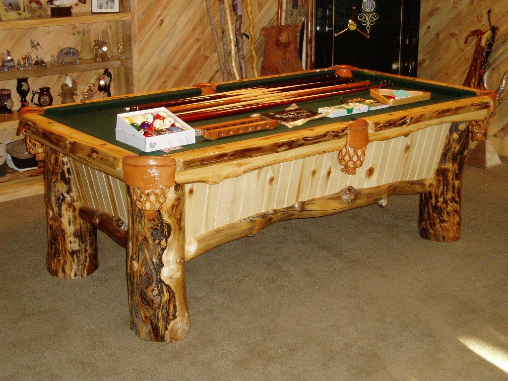 Colorado Log Pool Table At Best Quality Billiards