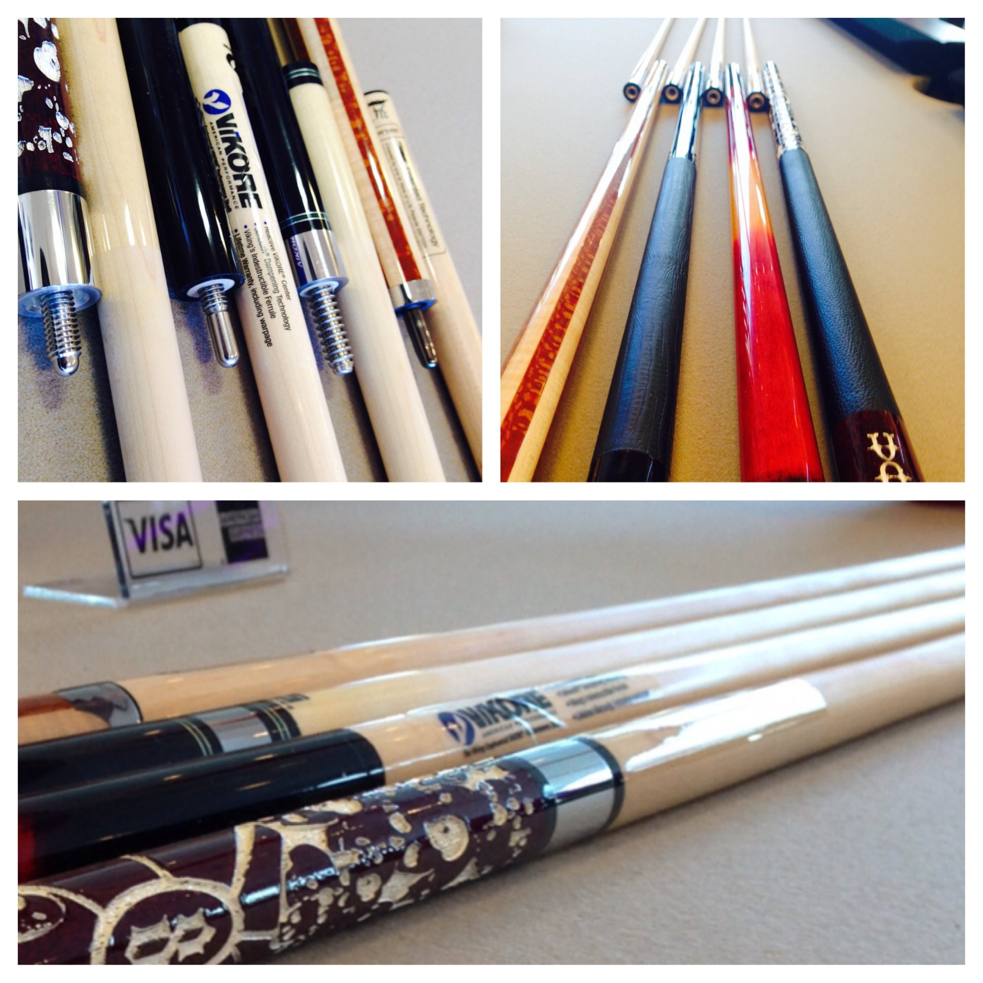 Denver's best selection of pool cues