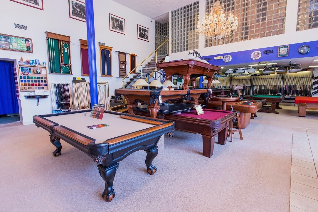 Best Quality Billiards Denver pool table sales showroom