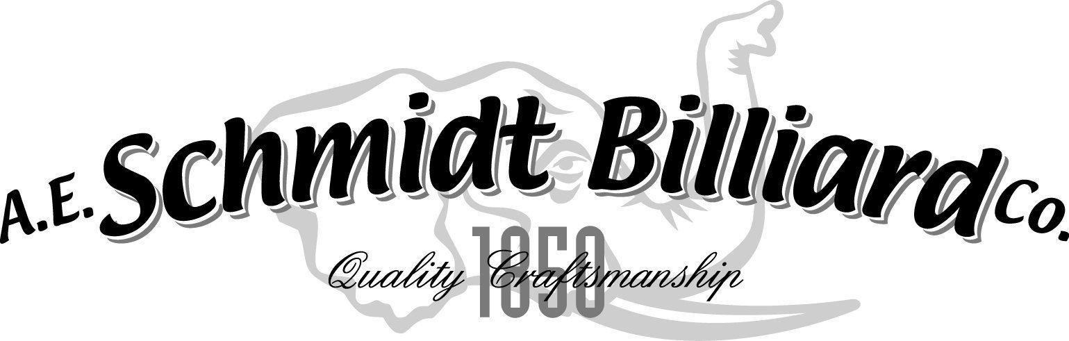 A. E. Schmidt Billiard Company Logo