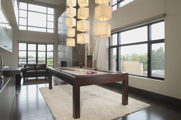 La Condo Canada Billiards Pool Table
