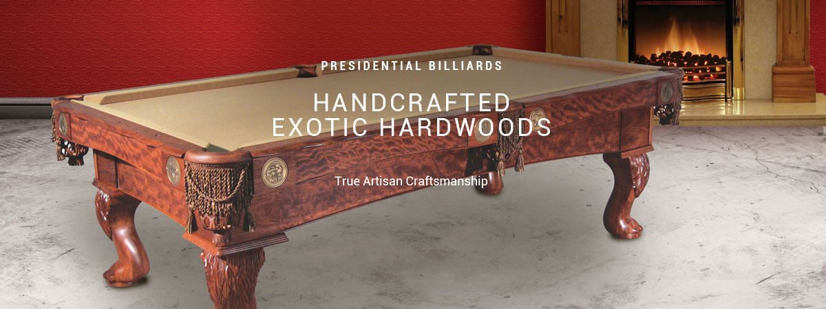 Presidential Billiards- Available from Best Quality Billiards