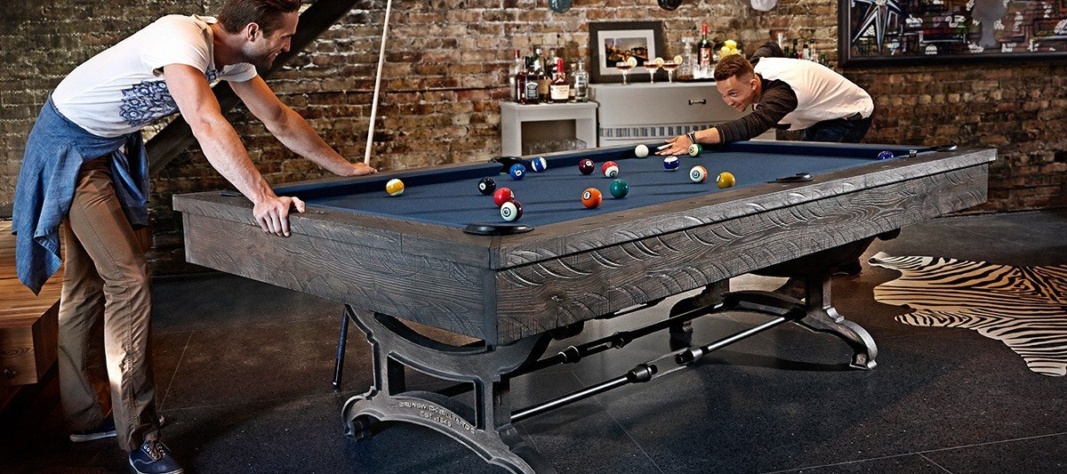 Birmingham Pool Table by Brunswick Billiards Available At Best Quality Billiards