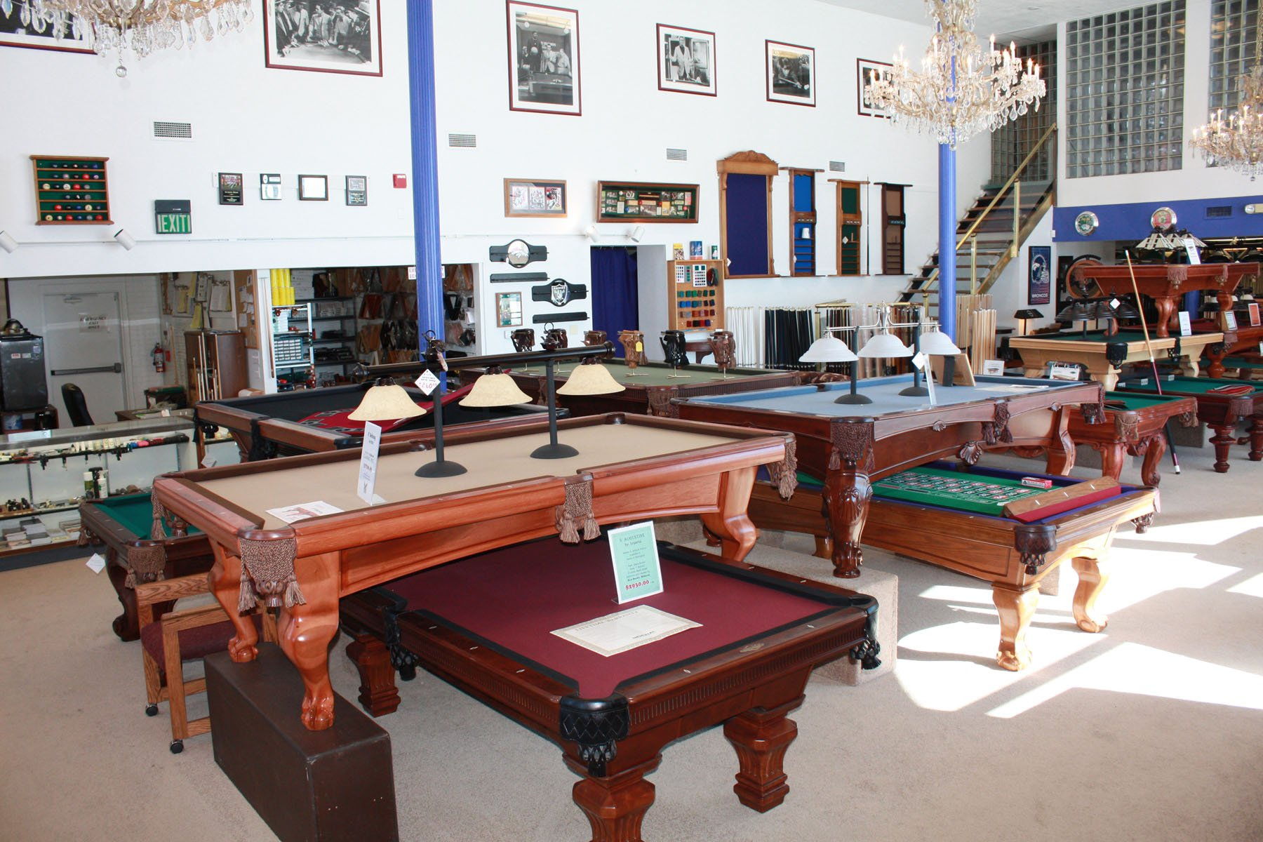 Denver, Colorado buys it's pool tables from Best Quality Billiards