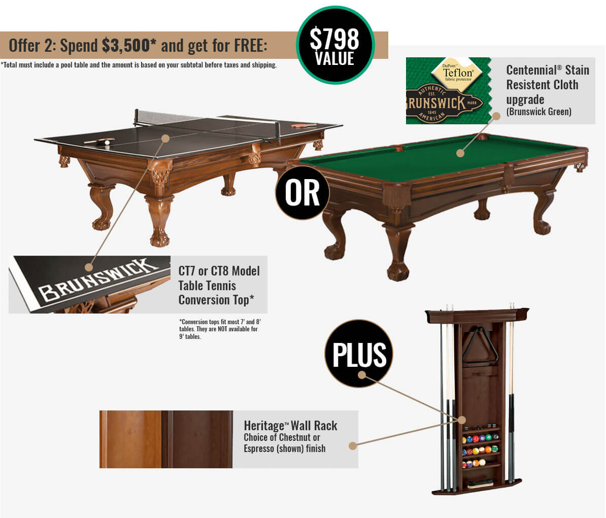 Brunswick Pool Table Special 2 At Best Quality Billiards
