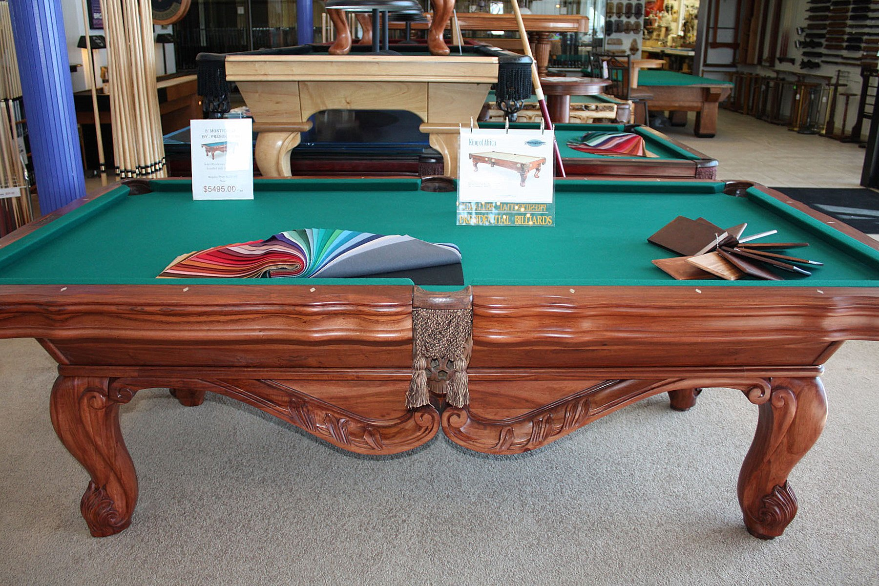 denver pool table service recover company is Best Quality Billiards