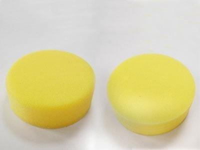 tampone per lucidatura giallo