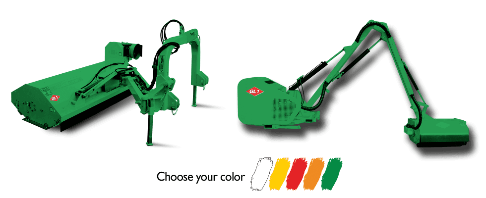 bracci e tranciatrici GL1 srl verdi