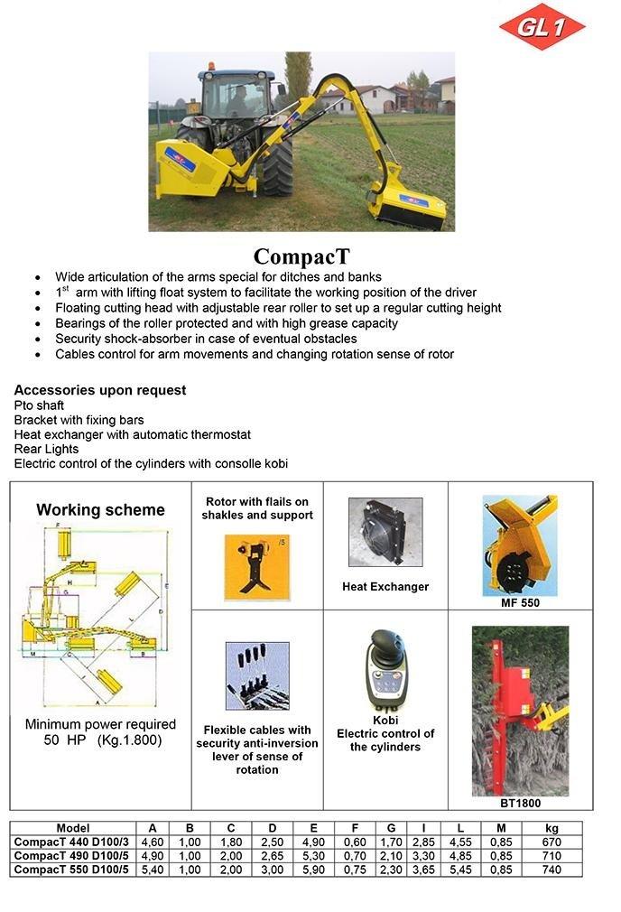 CompacT 440 - 490 - 550