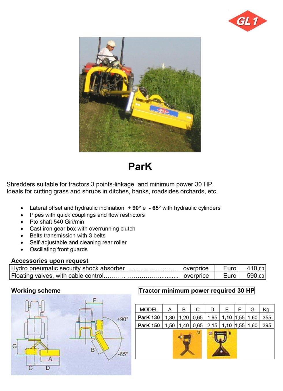 Multiuso Park 130 - 150