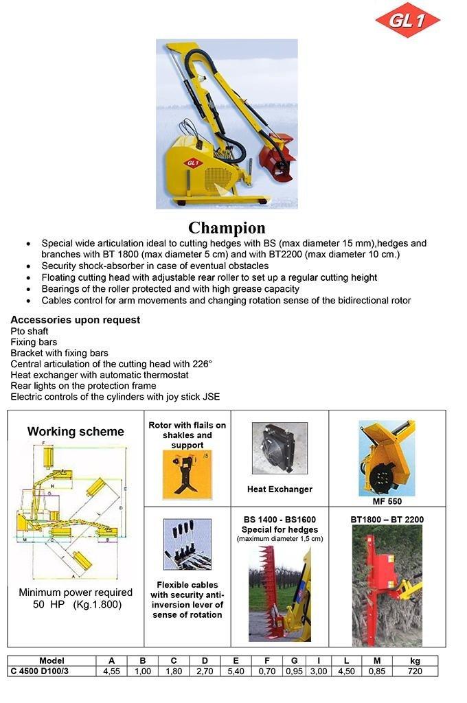 Champion 4500