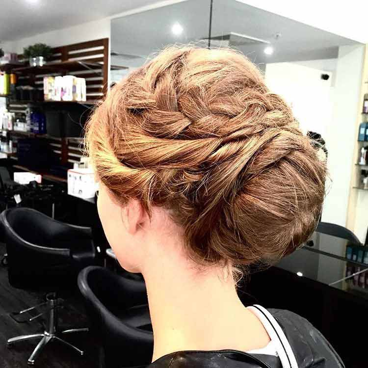 styled updo