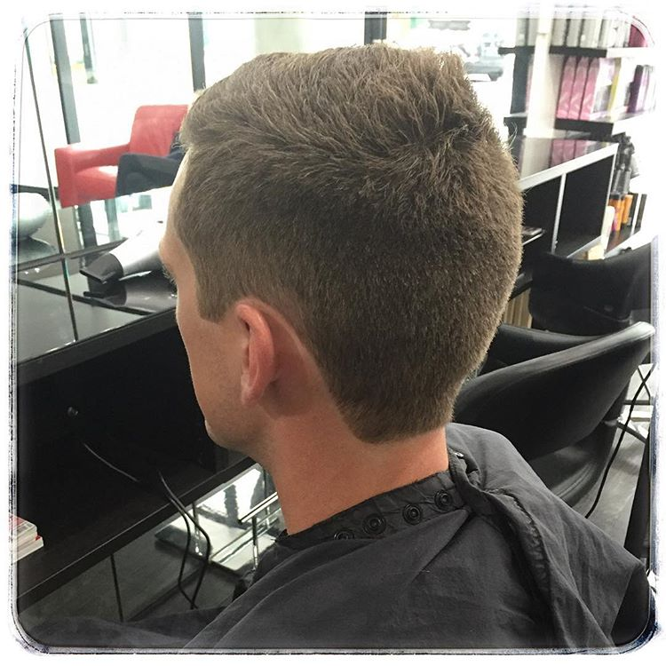 male short cut