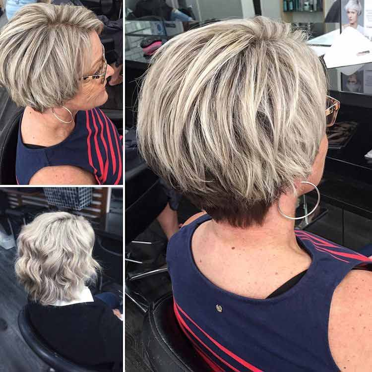 before and after blonde bob