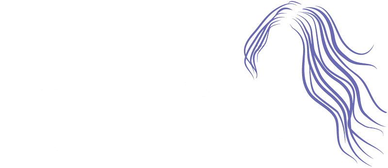 hair by evie white logo