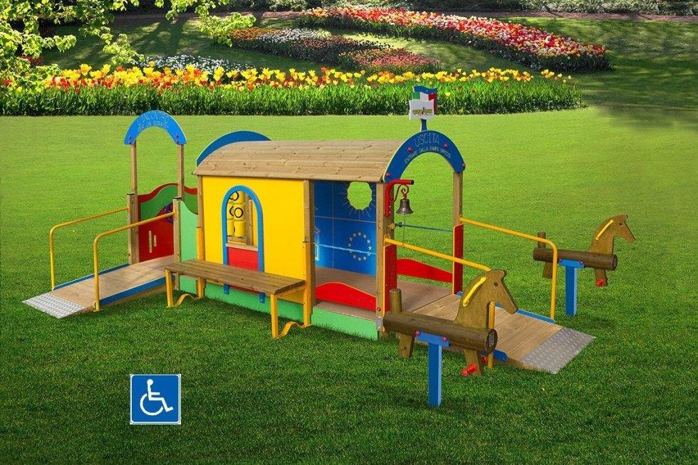 GL 394 Percorso per un sorriso ( accessibile anche a bambini con disabilità )