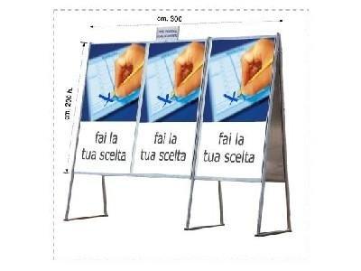 Tabellone elettorale mobile Ef-Pi