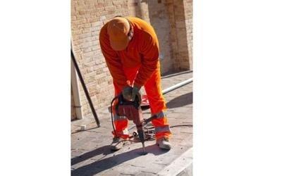 Attrezzatura manutenzione stradale
