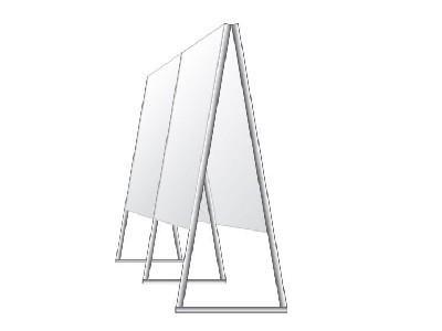 Piantana triangolare Ef-Pi
