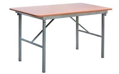 Tavolino metallico base in legno