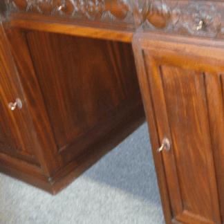 fasi restauro, anta e pianale mancante, mobili da rifare