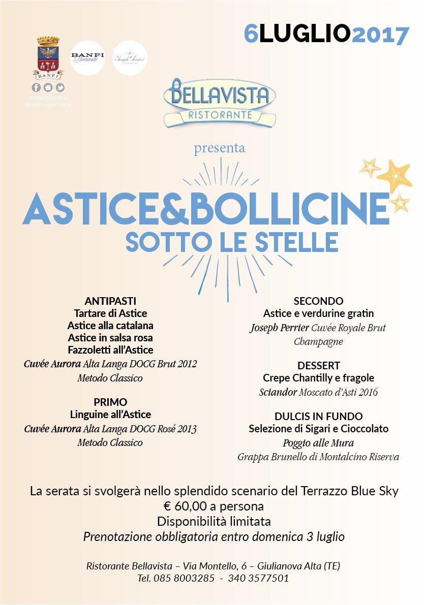 Serata dedicata all'astice a Giulianova