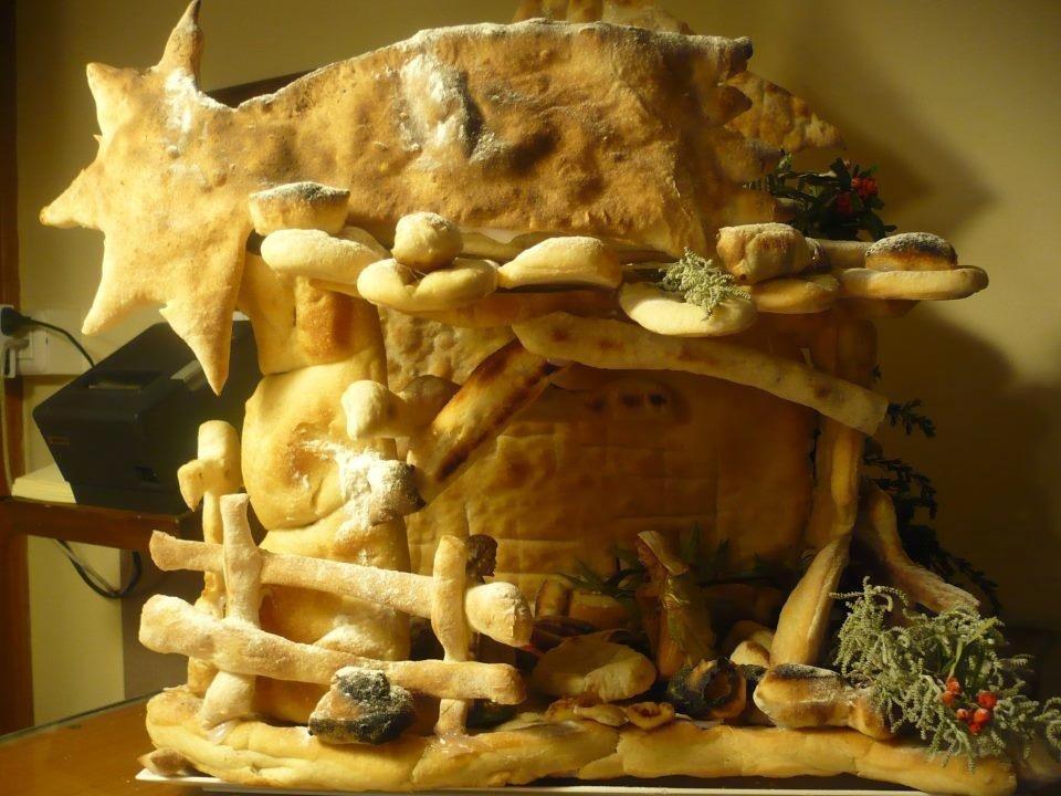 Scultura di pane