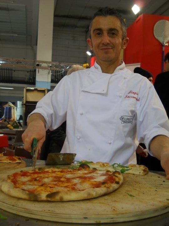 Biagio e la pizza