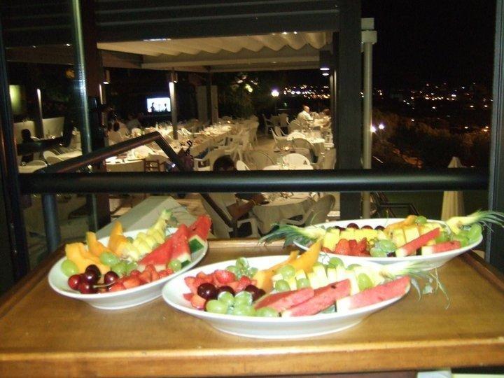 Piatti di frutta