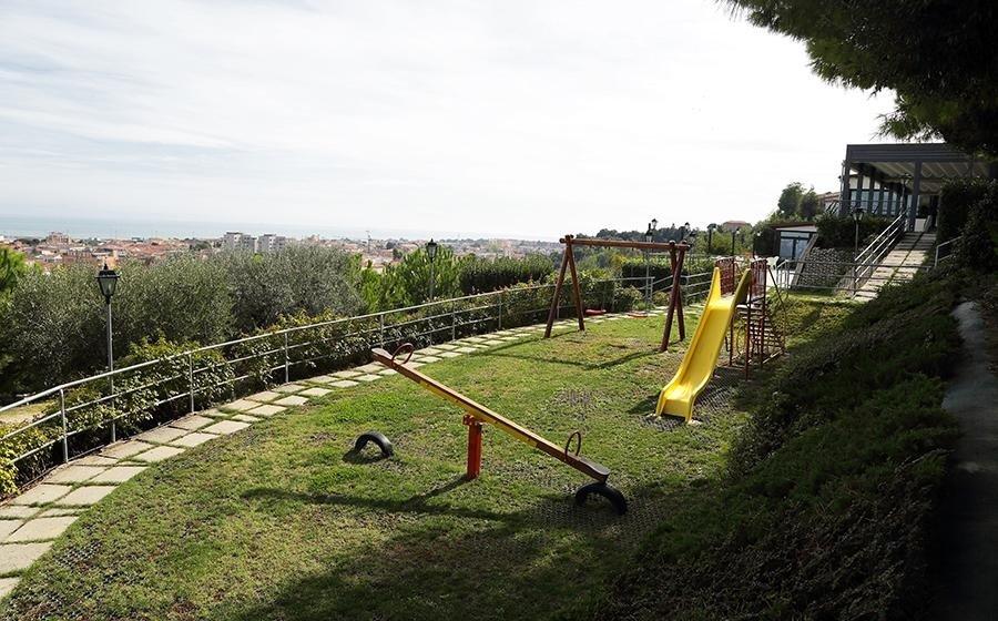 Parco giochi ristorante