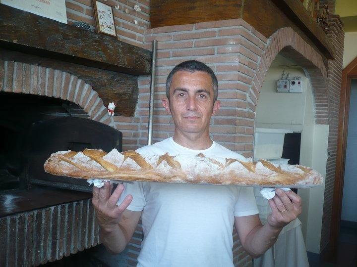 Pane caldo  sfornato