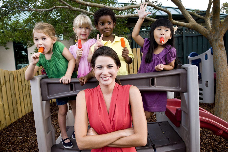 children acting at community child care in Cincinnati, OH