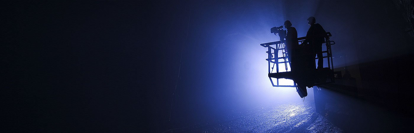 passive lighting industrial light at night