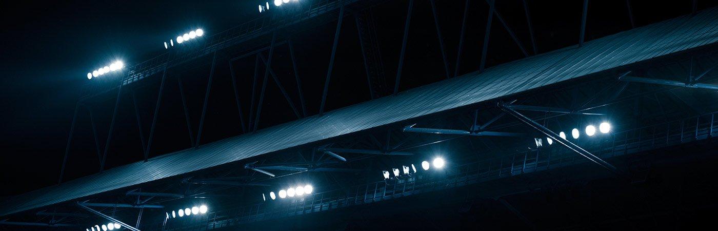 passive lighting led stadium lights