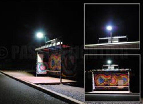 passive lighting bus shelter solar led lighting
