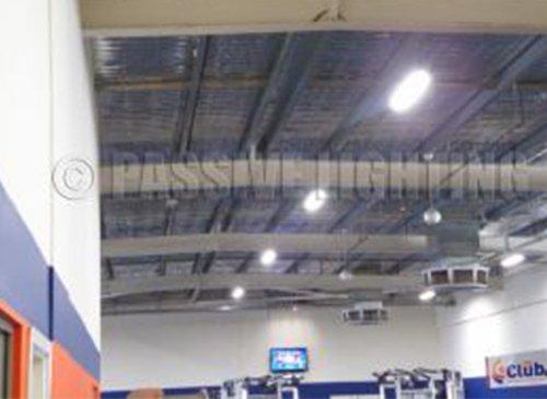 passive lighting club fitness led lighting solution