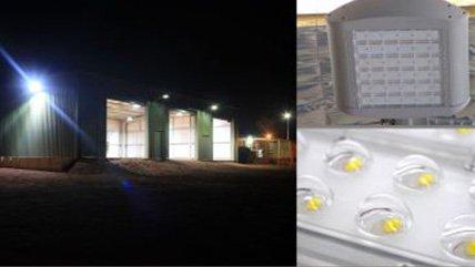 passive lighting 360 led flood light in sheds