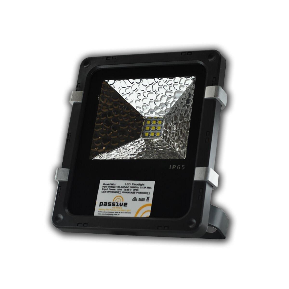 passive lighting 10w flood light