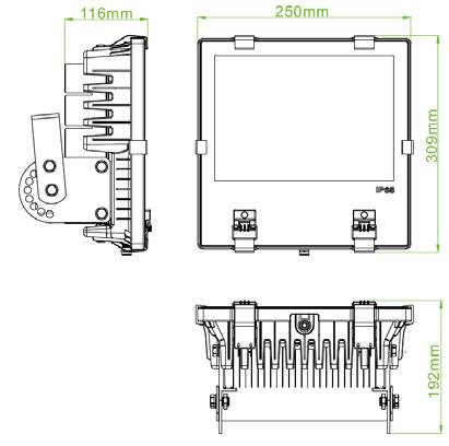 passive lighting 100w spec sheet