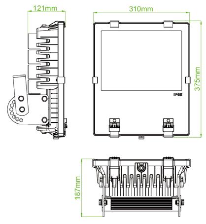passive lighting 150w spec sheet