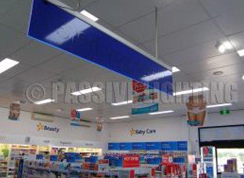 passive lighting chemmart led shop lighting