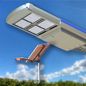 passive lighting led solar street light