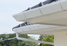 Gutter and soffits