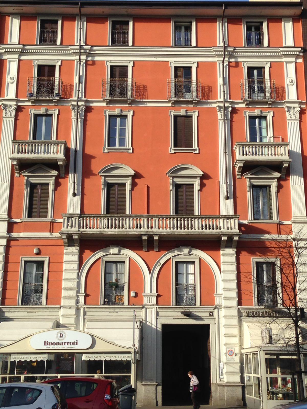Palazzo antico a Milano