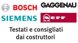 Elettrodomestici Bosh Siemense Gaggenau Siemens Neff